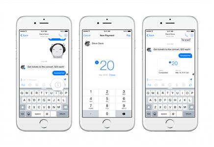 Facebook Messenger Para Gönderme