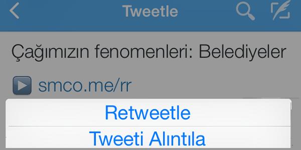 Tweeti Alıntıla